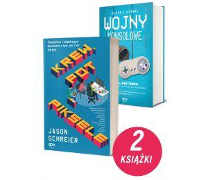 Okładka pakietu książek Krew, pot i piksele + Wojny konsolowe w księgarni labotiga.pl