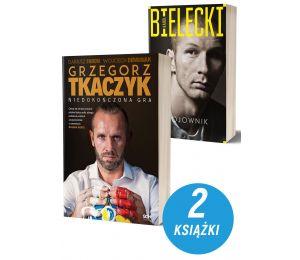 Okładki książek sportowych na Labotiga.pl Grzegorz Tkaczyk i Karol Bielecki. Wojownik