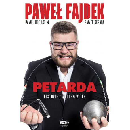 Okładka książki sportowej Petarda. Historie z młotem w tle