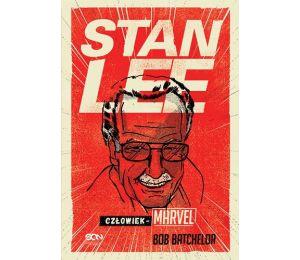 Okładka książki Stan Lee. Człowiek-Marvel na labotiga.pl