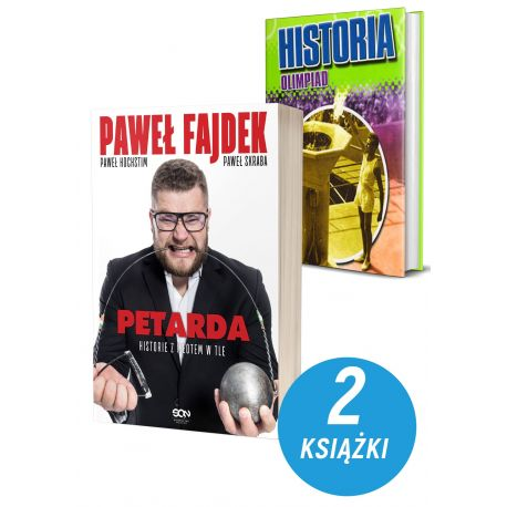 Okladki-ksiazek-sportowych-Paweł-Fajdek-Petarda-Historia-olimpiad-w-ksiegarni-sportowej-laBotiga