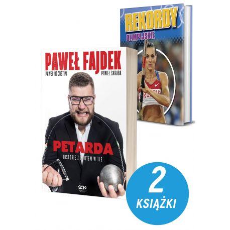 Okladki-ksiazek-sportowych-Paweł-Fajdek-Petarda-Rekordy olimpijskie-w-ksiegarni-sportowej-laBotiga