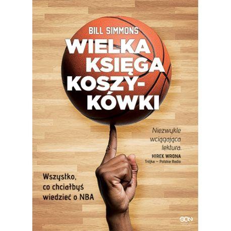 Okładka książki sportowej Wielka księga koszykówki dostępnej w księgarni sportowej laBotiga