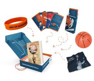 Zdjęcie elementu pakietu dla fana koszykówki Wielka księga koszykówki z gadżetami dostępnego w księgarni sportowej laBotiga