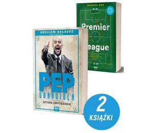 Pakiet książek sportowych Premier League i Pep Guardiola. Sztuka zwyciężania. Wydanie II