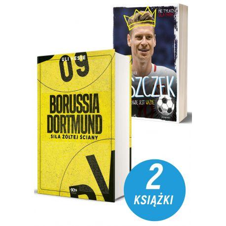 Zdjęcie pakietu książek sportowych Borussia Dortmund i Łukasz Piszczek