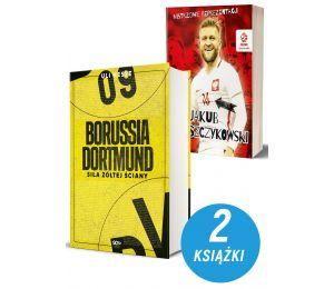 Zdjęcie pakietu książek sportowych Borussia Dortmund i Jakub Błaszczykowski