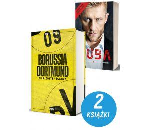 Zdjęcie pakietu książek sportowych Borussia Dortmund i Kuba Błaszczykowski