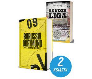 Zdjęcie pakietu książek sportowych Borussia Dortmund i Bundesliga