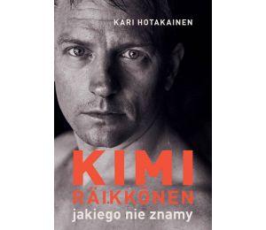 Okładka książki sportowej Kimi Raikkonen, jakiego nie znamy dostępnej w księgarni sportowej labotiga.pl