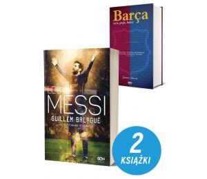 Pakiet książek sportowych Leo Messi. Autoryzowana biografia. Wyd. III i Barca. Życie, pasja, ludzie. Wyd. 2 na labotiga.pl