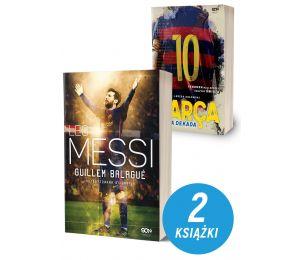 Pakiet książek sportowych Leo Messi. Autoryzowana biografia. Wyd. III i Barca. Złota dekada na labotiga.pl