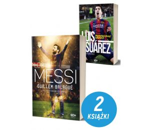 Pakiet książek sportowych Leo Messi. Autoryzowana biografia. Wyd. III i Luis Suarez. Przekraczając granice na labotiga.pl