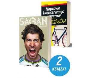 Pakiet: Peter Sagan. Mój świat + Naprawa i konserwacja rowerów