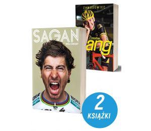 Pakiet: Peter Sagan. Mój świat + Czesław Lang. Zawodowiec