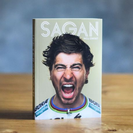 Książka sportowa Peter Sagan. Mój świat dostępna w księgarni sportowej labotiga.pl