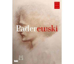 "Okładka książki ""Paderewski"""