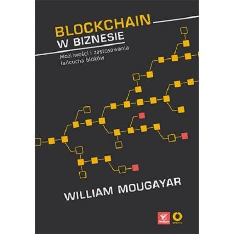 """Okładka książki """"Blockchain w biznesie"""""""