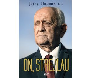 Okładka książki sportowej On, Strejlau. Andrzej Strejlau, Jerzy Chromik