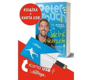 Zdjęcie pakietu książek sportowych Peter Crouch i Pendrive Labotiga