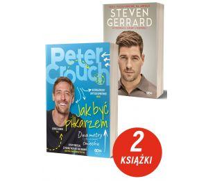 Zdjęcie pakietu książek sportowych Peter Crouch i Steven Gerrard