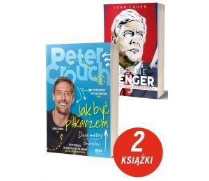 Zdjęcie pakietu książek sportowych Peter Crouch i Arsene Wenger