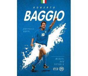 """Okładka książki """"Roberto Baggio. Włoski bóg futbolu"""""""