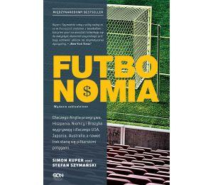 Okładka książki sportowej Futbonomia. Wydanie II na labotiga.pl