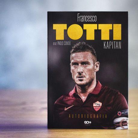 "Okładka książki ""Totti. Kapitan. Autobiografia"" w Labotiga.pl"