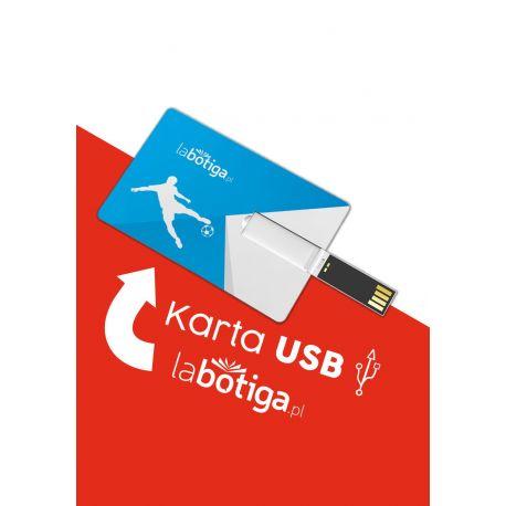 Zdjęcie gadżetu sportowego karta pendrive USB 4 GB w księgarni LaBotiga.pl