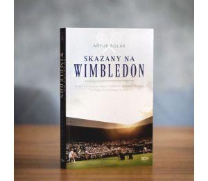 """Okładka książki sportowej """"Skazany na wimbledon"""" w Labotiga.pl"""