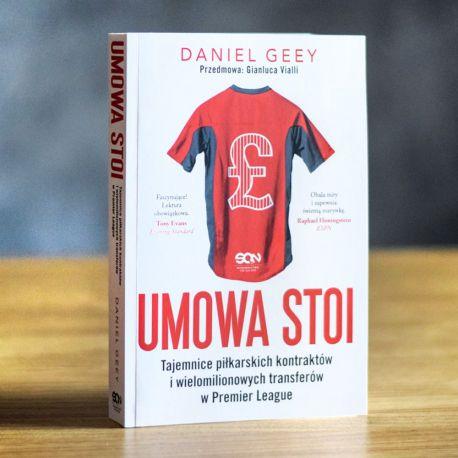 Okładka książki sportowej Umowa stoi na Labotiga.pl