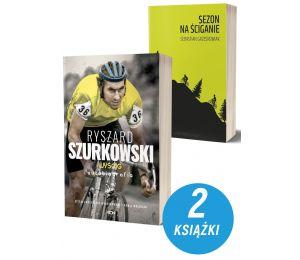Zdjęcie Pakietu książek sportowych Ryszard Szurkowski + Sezon na ściganie na Labotiga.pl