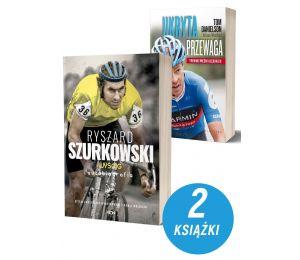 Zdjęcie Pakietu książek sportowych Ryszard Szurkowski + Ukryta przewaga na Labotiga.pl