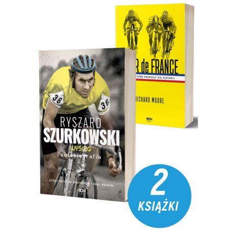 Zdjęcie Pakietu książek sportowych Ryszard Szurkowski + Tour de France na Labotiga.pl