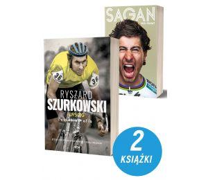 Zdjęcie Pakietu książek sportowych Ryszard Szurkowski + Peter Sagan na Labotiga.pl