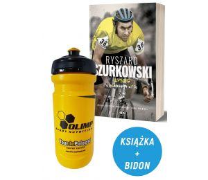 Zdjęcie Pakietu książka sportowa Ryszard Szurkowski + bidon OLIMP 600ml w sklepie Labotiga