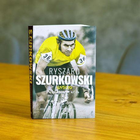 Książka sportowa o kolarstwie Ryszard Szurkowski. Wyścig dostępna w księgarni sportowej labotiga.pl