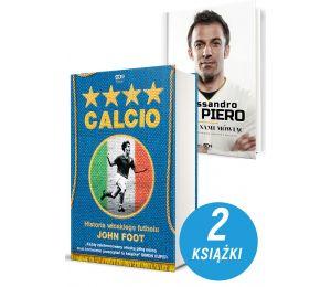 Zdjęcie pakietu Calcio. Historia włoskiego futbolu + Juventus. Historia w biało-czarnych barwach w księgarni Labotiga