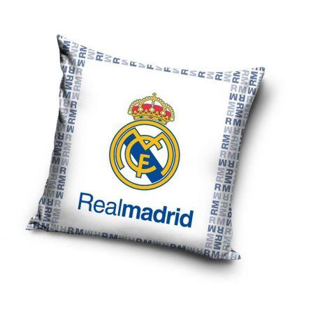 Poduszka Real Madryt biała (40x40) RM163017