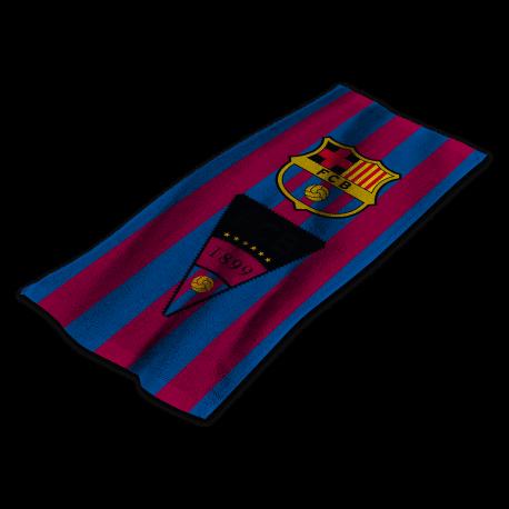 Ręcznik FC Barcelona (40x60) logo retro FCB2001