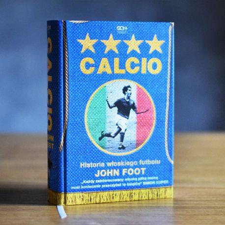 Okładka książki Calcio. Historia włoskiego futbolu w księgarni sportowej Labotiga