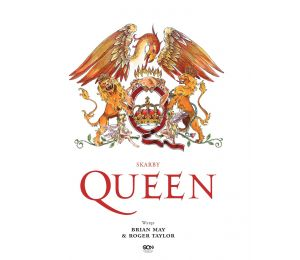 Okładka książki Skarby Queen. Oficjalna historia legendy rocka w księgarni Labotiga