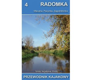 Okładka książki Przewodnik kajakowy. Radomka w księgarni Labotiga