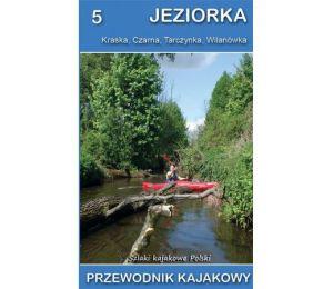 Okładka książki Przewodnik kajakowy. Jeziorka w księgarni Labotiga