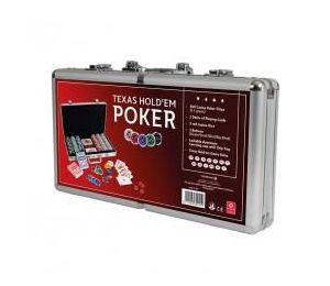 Poker set Alu case CARTAMUNDI