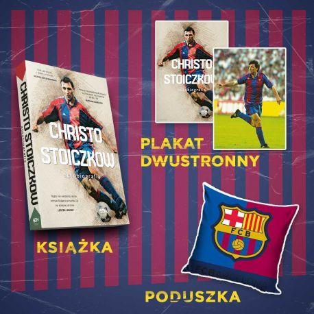 (Wysyłka ok. 7.11) Christo Stoiczkow + poduszka flaga logo (plakat gratis)