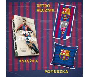 (Wysyłka ok. 7.11) Christo Stoiczkow + mały ręcznik + poduszka niebieska (plakat gratis)
