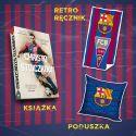 Christo Stoiczkow + mały ręcznik + poduszka niebieska (plakat gratis)