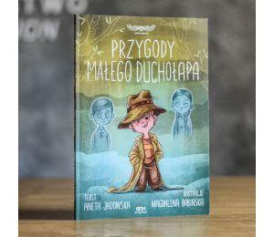 Okładka książki Przygody małego duchołapa z serii SQN Originals w księgarni Labotiga